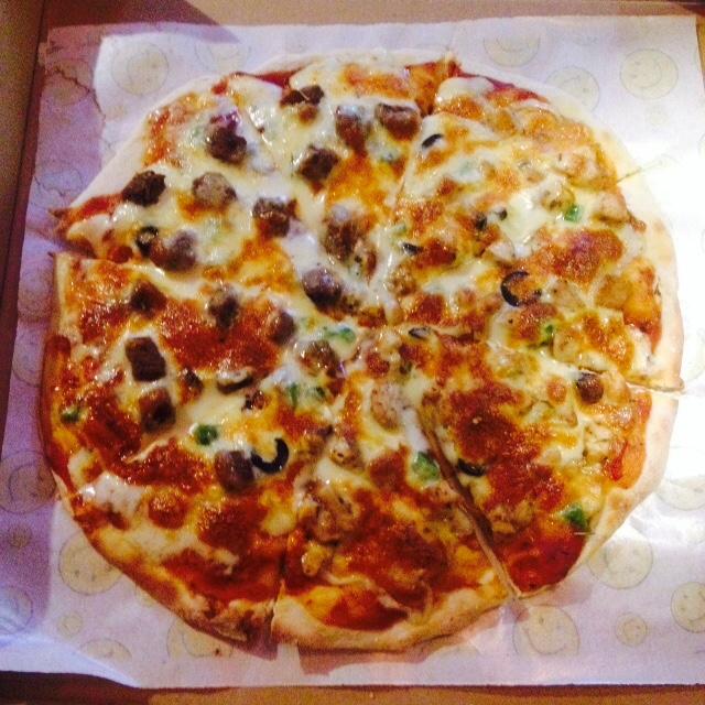 Одна из моих пицц